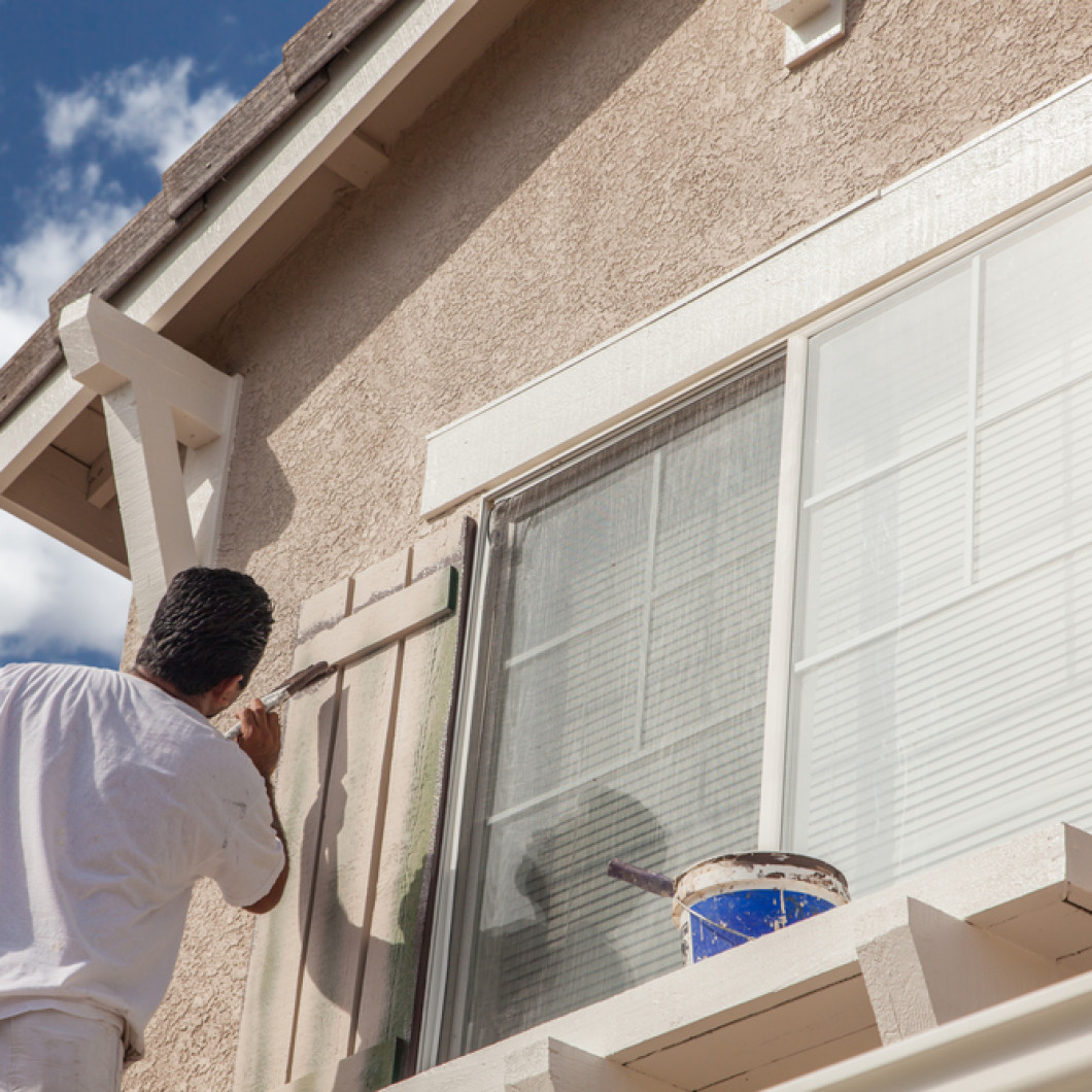 WE'LL PREP YOUR EXTERIOR BEFORE WE PAINT